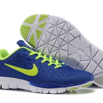 a8ec707b54d2 Men s Women s Nike Free TR FIT 3 Training Shoes Navy Blue Green