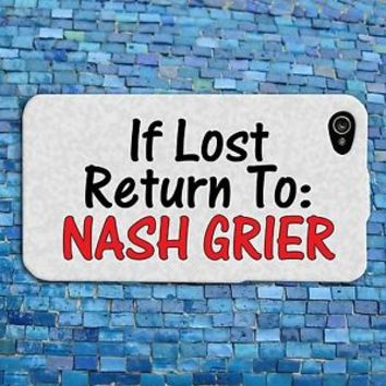 Funny Nash Grier Quote iPhone Case Cute iPod Cover Custom iPhone 4 4s 5 5s 5c 6