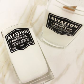 Aviation Gin Candle