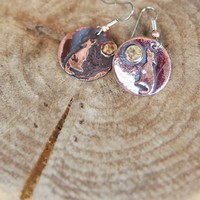 HOWLIN AT MOON EARRING-ROUND - Junk GYpSy co.