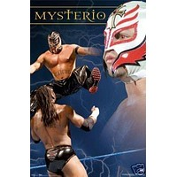 Mysterio Poster - Top Action Wrestling Wwe - New 24x36