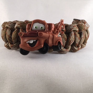 Mater - Children Paracord Heaven Survival Bracelet with Knot Closure
