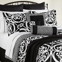 The Great Find- -Kennedy 16-Piece Complete Bed Set-Bed & Bath-Decorative Bedding-Comforters & Sets