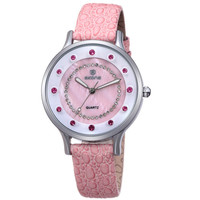 Trendy Awesome Great Deal New Arrival Stylish Good Price Designer's Gift Diamonds Simple Design Ladies Watch [8423936065]
