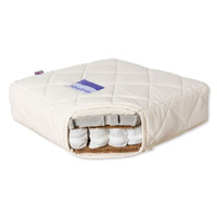 Organic Quilted Lambswool & Coir Crib Mattress