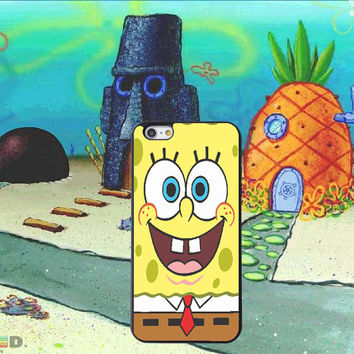 Spongebob Inspired, Custom Phone Case for iPhone 4/4s, 5/5s, 6/6s, 6/6s+ and iPod Touch 5