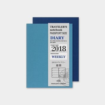 TRAVELER'S Company Passport 2018 Weekly Planner