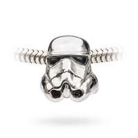 Star Wars Stormtrooper Charm Bead - Charm Bead Only
