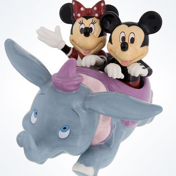 Disney Parks Mickey Minnie And dumbo Salt And Pepper Shakers New With Box