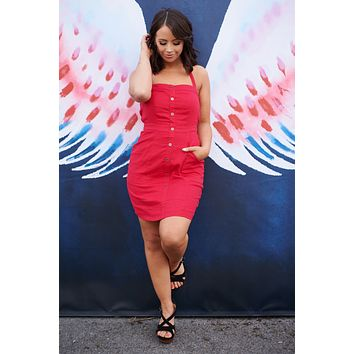By Your Side Dress (Red)