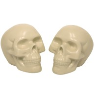 White Skull - Salt & Pepper Shaker Set