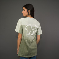 Classic Fit Olive Ombre Tee
