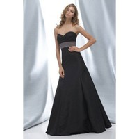 Charming sleeveless trumpe bridesmaid dress