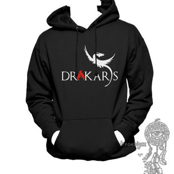 Drakars Mother of dragon Khaleesi Printed on Unisex Hoodie Sweatshirt