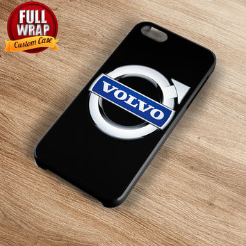 Volvo Automobile Car Logo Full Wrap Phone Case For iPhone, iPod, Samsung, Sony, HTC, Nexus, LG, and Blackberry