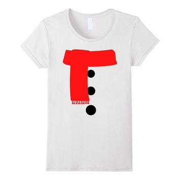 Easy Snowman Christmas/Halloween Costume T-Shirt