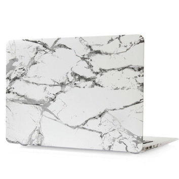 """Best Protection Marble Case Tech Rubberized Hard Shell Matte Nanometer Cover for MacBook Air 11.6""""  , Air 13.3 , Pro 13.3"""" , Pro 15.4"""" , Retina 15.4"""" , Retina 13.3"""" , Retina 12"""""""