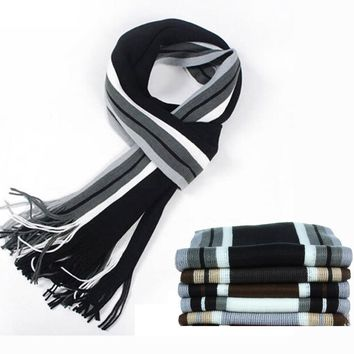 Casual Wool Print Shawl Scarves