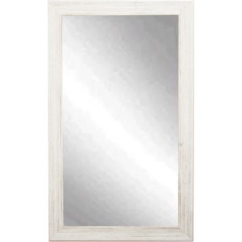 "Brandt Works Coastal Whitewood Wall Mirror BM018L3 31.5""x54.5"""