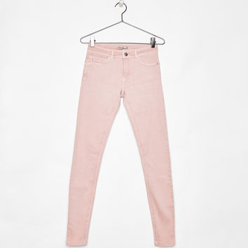 5-pocket push-up pants - Pants - Bershka United States