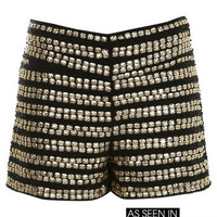 Embellished Short - Shorts  - Apparel