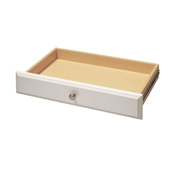 Martha Stewart Living 4 in. x 24 in. Classic White Deluxe Drawer Kit-W8 - The Home Depot