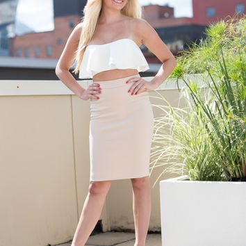Claire Solid Dress