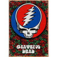 Grateful Dead Tin Concert Sign