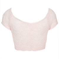 Paisley Lace Crop Top - Tops - Clothing - Topshop USA