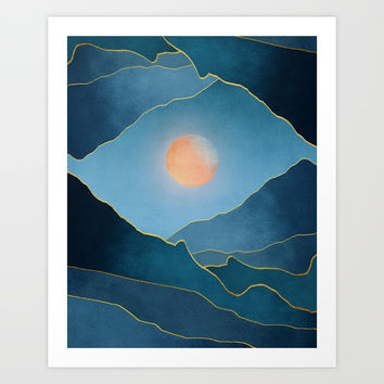 Surreal sunset 03 Art Print by marcogonzalez