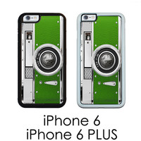 Green camera iPhone 6  6S  iPhone 6 PLUS Grass Green Retro Vintage Style Camera Case | Hard Case For iPhone 6