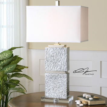 Eumelia Silver Table Lamp