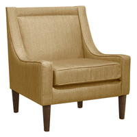Platinum Collection by SF Designs Mid Century Swoop Armchair