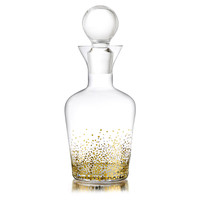 Gold Luster Decanter, Decanters