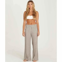 Billabong Women's New Waves Striped Pant | Stone
