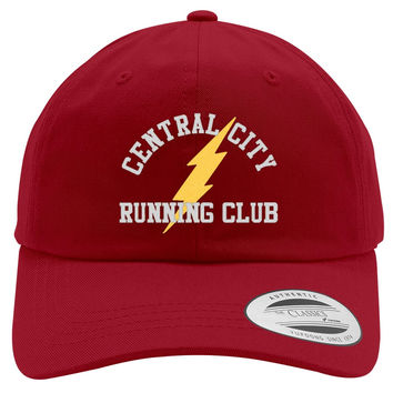 Central City Running Club Embroidered Cotton Twill Hat