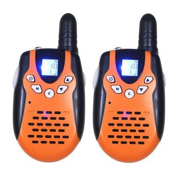 ONETOW M602 Mini 2 Way Radios PMR Walkie Talkies FRS/GMRS 8/22 Channels 2pc CB Radio Communicator with LED Flashlight