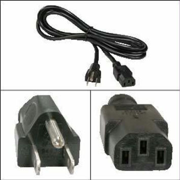 Unirise Usa, Llc Power Cord C13-c14 Svt 250v 10amp Black Jacket 3 Feet