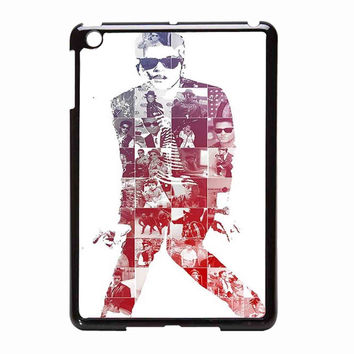 Bruno Mars photo collage 6d71217c-2126-4abd-b1f7-b522a2c42e5f FOR iPad Mini CASE *02*