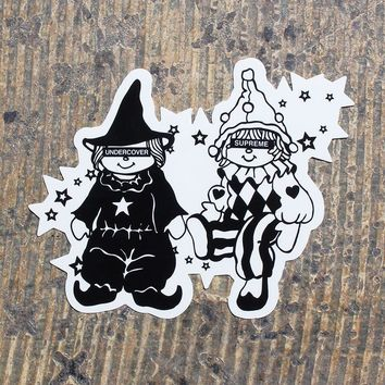 Undercover Dolls Sticker