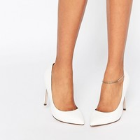 ASOS PLAYFUL Wide Fit Pointed Shoes at asos.com