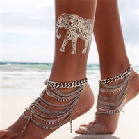 Fashion Gold Chain Anklet Foot Ankle Women Lady Jewelry Elegant = 4473281028