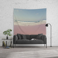 Sea waves 2 Wall Tapestry by VanessaGF
