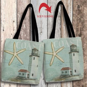 Beach House II Canvas Tote Bag