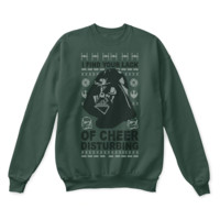ICIKON7 I Find Your Lack Of Cheer Disturbing Star Wars Ugly Christmas Sweater