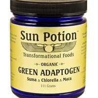 Green Adaptogen Powder (Organic) - 111g Jar