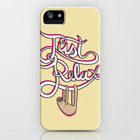 Just Relax Sloth iPhone Case by Ben Dalrymple | Society6