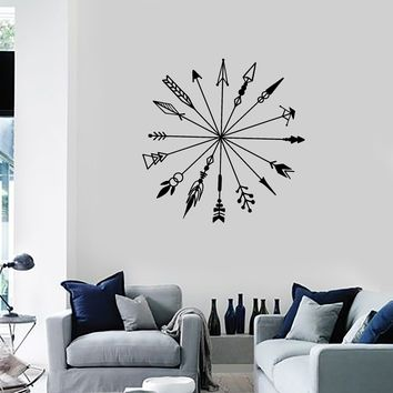 Vinyl Wall Decal Arrows Ethnic Style Room Decoration Idea Art Stickers Mural (ig5341)