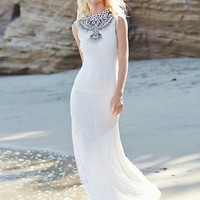 Free People Embellished Mermaid Gown