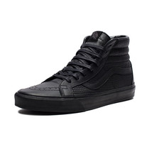 VANS SK8-HI REISSUE SNAKE LEATHER - BLACK | Undefeated